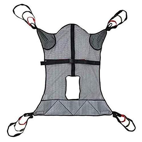 Z-SEAT Eslinga de Cuerpo Completo para Pacientes, Eslinga para Inodoro Elevador de Pacientes, Cinturón de Transferencia para Personas Mayores sentadas, Elevador de Paciente
