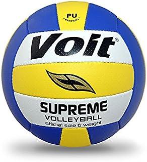Voit 1VTTPSUPREME Voleybol Topu N5, Unisex, Beyaz/Lacivert, N5