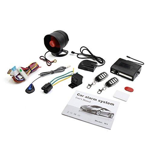 X AUTOHAUX Car Alarm System