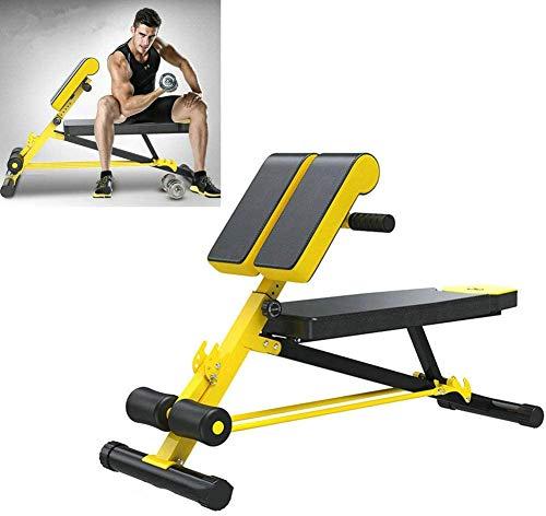 MLyzhe Thuis Gym Verstelbare Gewicht Bank Opvouwbare Workout Verstelbare Sit Up Incline Abs Banken Platte Vliegen Gewicht Druk Fitness voor Dagelijkse Oefening