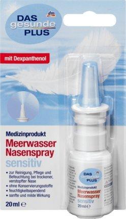 DAS gesunde PLUS Meerwasser Nasenspray sensitiv, 20 ml Medizinprodukt