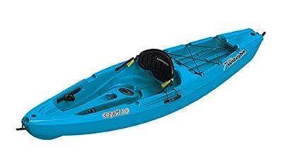 51270 SUNDOLPHIN Capri Sit-On Recreational Kayak (Ocean, 10-Feet) by KL Industries