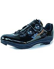 Churlin Racefiets Fietsschoenen voor Mannen Mountainbike Schoenen Spin Shoestring met Compatibele Cleat Peloton Schoen Outdoor Indoor Racefiets Fietsschoenen