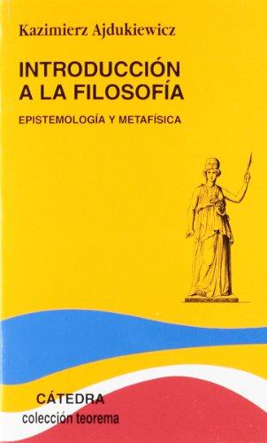 Introducción a la filosofía: Epistemología y metafísica: 1,2 (Teorema. Serie menor)
