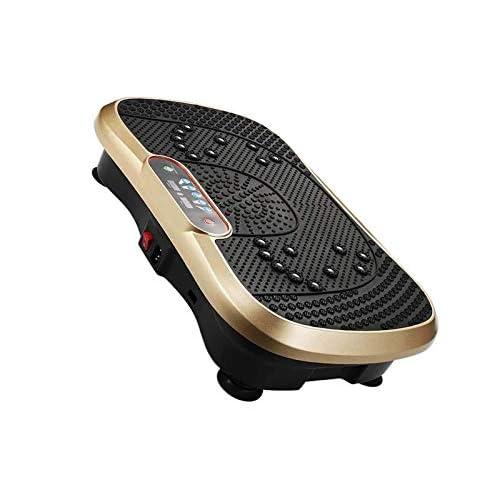 RSBCSHI Vibration Fitness Trainer, Ultra Slim Vibration Plate, Shiatsu Massage, Mute, Adjustable Vibration,...