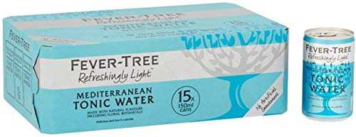Fever-Tree Refreshingly Light Mediterranean Tonic Water 15 x 150ml Cans - 3