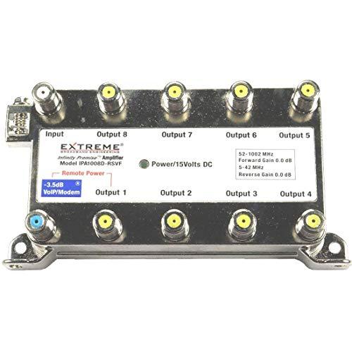 Extreme Broadband IPA1008D-RSVF - 8 Way Splitter