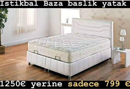Iikbal Ferro bedkast met Orth. Pocketvering, stress free, matras, 160 x 200 cm