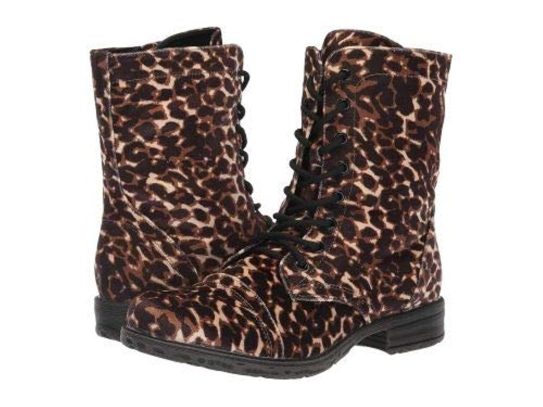 VOLATILE(ヴォラタイル) レディース 女性用 シューズ 靴 ブーツ レースアップブーツ Avox - Black/Leopard [並行輸入品]