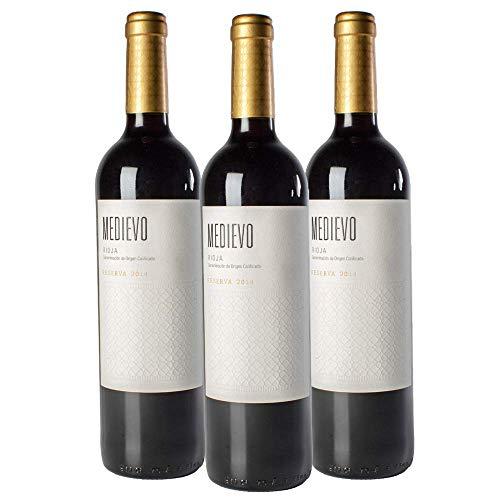 Vino Tinto Rioja Medievo Reserva 2014 | 3 Botellas