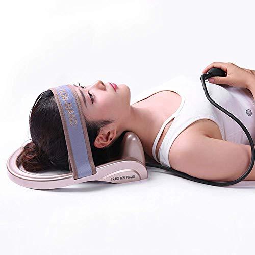 Nackenmassagegerät Manuellen Nackenmassage Nackenmassage Geräte Nackenmassage Ball Manual Neck Massager Halswirbel Druckpunkt-Massagegerät,Rosegold