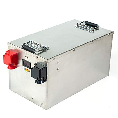 Lifepo4 Batterie 100ah 200ah 300ah 400ah 24V Lithium Eisenphosphat Batterie für Solar System/Wohnmobil/RV/Boot/Golf Carts/Elektroauto mit BMS (24V 200Ah×1pcs with Quick charger)