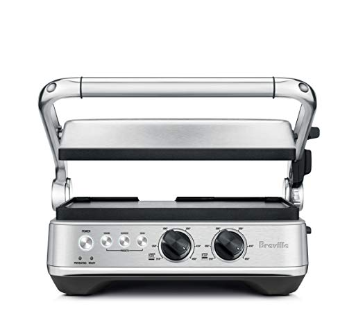 Breville BGR700BSS Sear and Press Grill, Brushed Stainless Steel