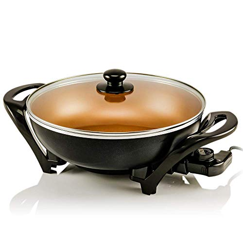 Ovente Electric Skillet 13 Inch ...