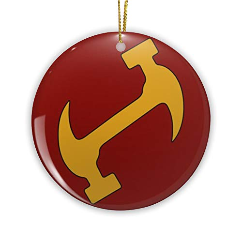 The Stonecutters Ornament Christmas Tree Xmas Decor