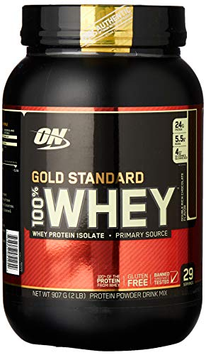 Whey Protein 100% Gold Standard - 909G Double Rich Chocolate - Optimum Nutrition, Optimum Nutrition
