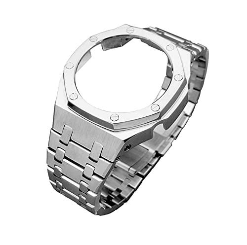 DLCYMY Ga2100 - Correa de metal para reloj Casio G-Shock Ga-2100, accesorios...