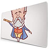 Gaming Mouse Pad,Mouse Pads with Non-Slip Rubber Base,Mousepad The Scientist Physicist Astronomer Galileo...