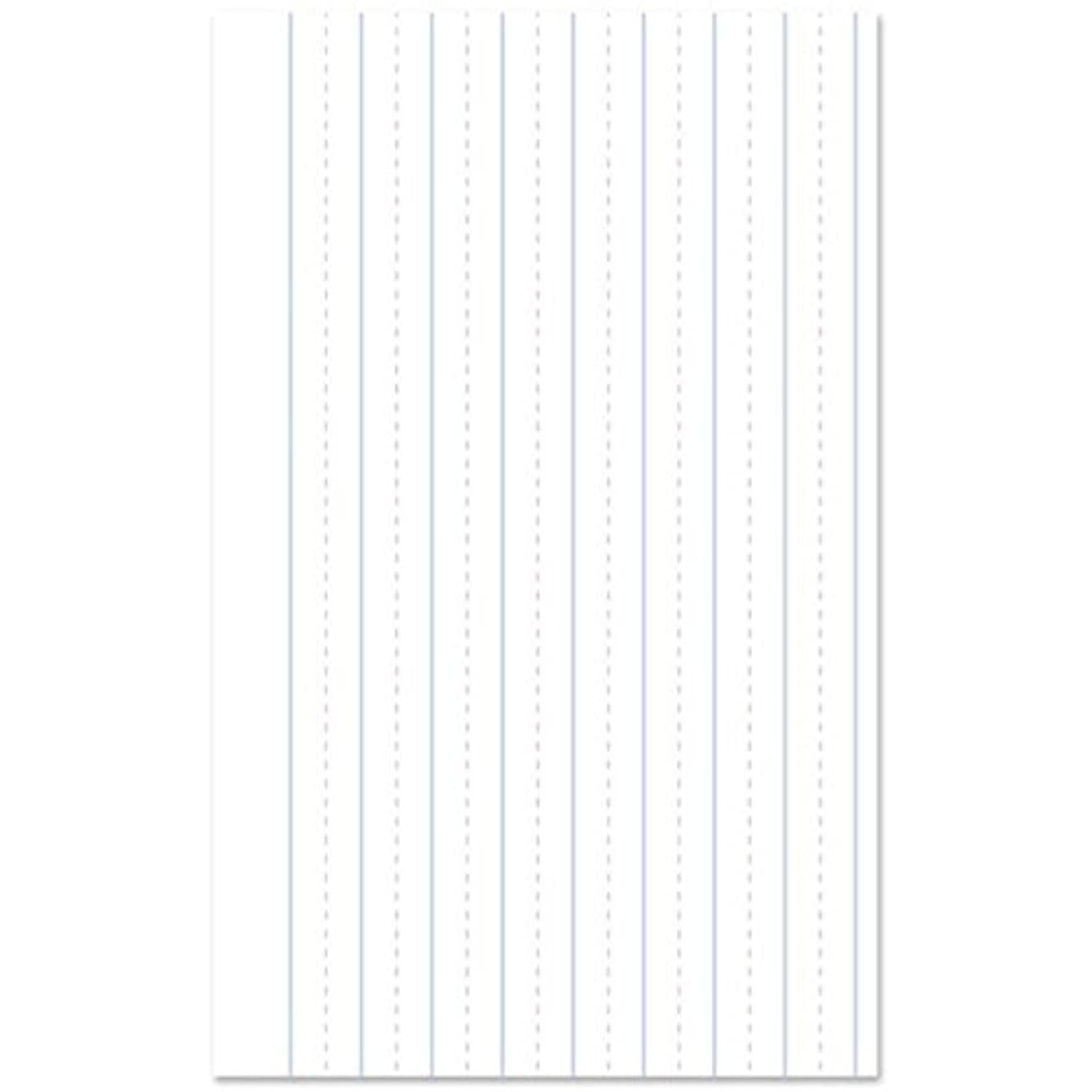 Darice EDU1224-JS Lined Notebook Paper Learning Chart