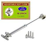 STIANC 2 Pack 100N/22.5LB Gas Struts-Lift Support-...