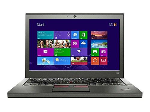 Lenovo ThinkPad X250 12,5 Zoll Laptop Intel Core i5-5200U / 2,2 GHz (2,7 GHz Turbo) Prozessor, 4 GB RAM, 192 GB SSD, Windows 7 Pro - 20CM004YUK