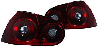 PROMOTORING For 06-09 VW MK5 RABBIT/GTI/R32 HELIX/DEPO TAILLIGHTS - EURO DARK CHERRY RED