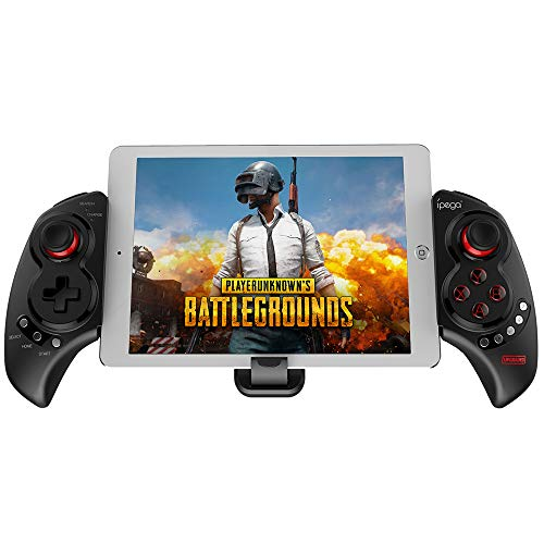 IPEGA PG-9023S Mobile Game Controller, Wireless 4.0 Gamepad PUBG Trigger Mobile Phone Telescopic Controller Joy Stick for iPhone Compatible with 5-10  iOS(iOS 11-13.3) Android Phone PC Tablet TV Box