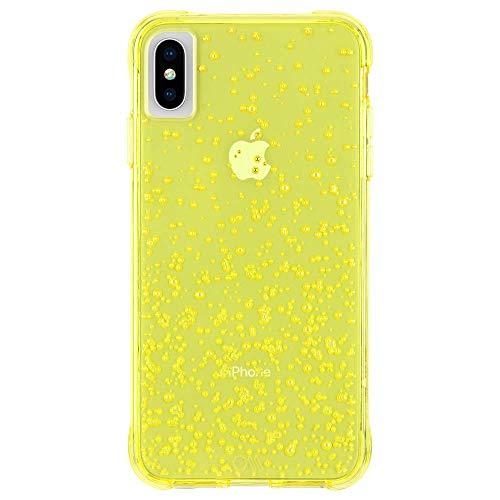 Case-Mate - iPhone Xs Max Case - Tough Fizz - iPhone 6.5' - Citrus Soda Yellow