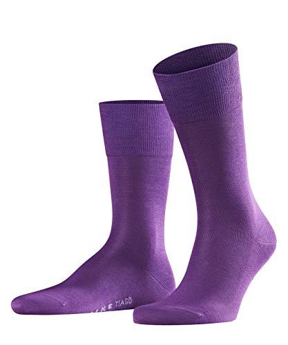 FALKE Herren Socken Tiago - 95% Baumwolle, 1 Paar, Blau (Petunia 6860), Größe: 45-46