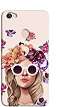 Cover It Up Flower Head Pink Hard Case For Xiaomi Redmi Note 5A - Multi Color