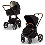 Moon Kollektion 2020 Kombi Kinderwagen ReSea S black | 63940310-201