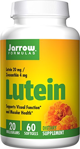 Jarrow Formulas Lutein 20 MG Softgels