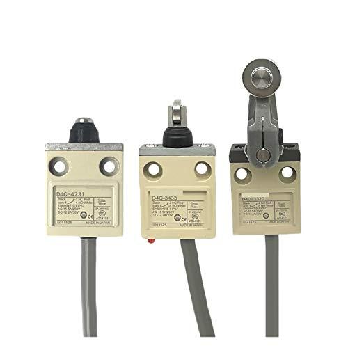 Kfdzsw Micro Interruptor Final de Carrera D4C 1320 1501 1202 4232 4233 4220 1520 1227-P (Color : D4C 1531)
