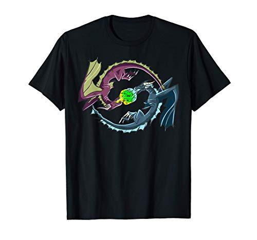 ドラゴンバトル rpg ロールプレイングゲーム ゲーマー Gamer ダイス・サイコロ D20 ボードゲーム 卓上ゲーム Tシャツ