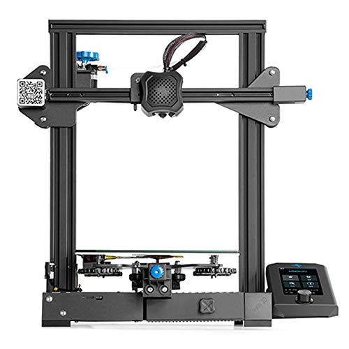 GUO Ender 3 V2 3D Printer, Touch Screen, Auto-Leveling, Resume Printing, Full Metal Frame