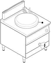 Marmite à cuve gaz - chauffe indirecte - 150 Litres - Tecnoinox