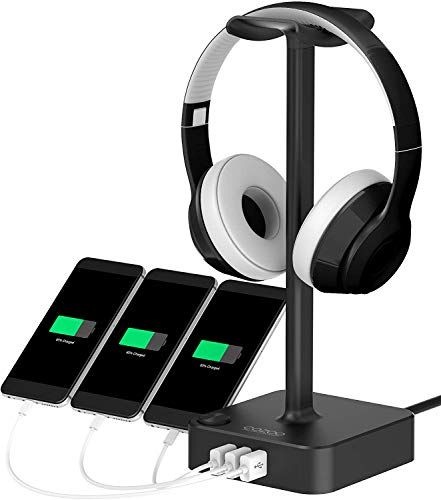 Headphone Stand with USB Charger...