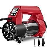 FYDT Comodo e preciso gonfiatore ectrico Pompa ad Aria a gonfiaggio rapido Pompa Trasparente Pompa di riempimento e Arresto Automatico SUV Speciale 120 PSI