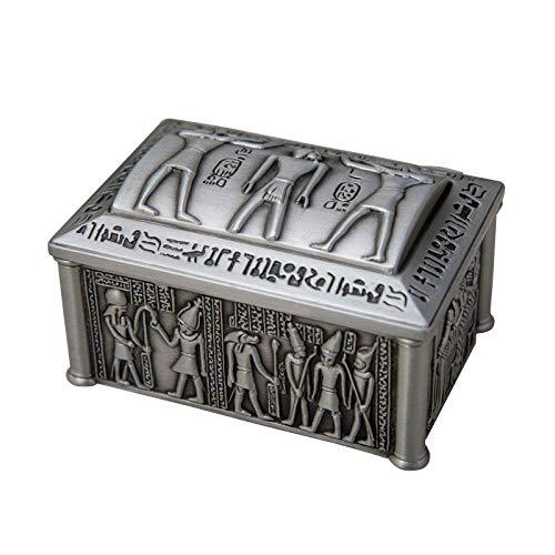 Caja de joyería clásica de Egipto para decoración del hog
