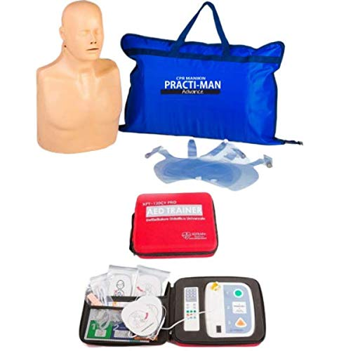 Kit Base Istruttore BLSD - Practi-Man Advance + AED Trainer