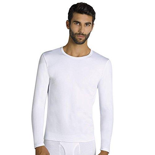 YSABEL MORA - Camiseta TERMICA Hombre Hombre Color: Blanco Talla: S