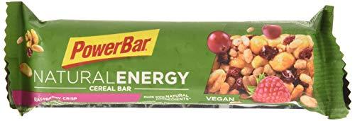 PowerBar Barrita Energética Natural Energy Cereales 24 x 40g Frambuesa