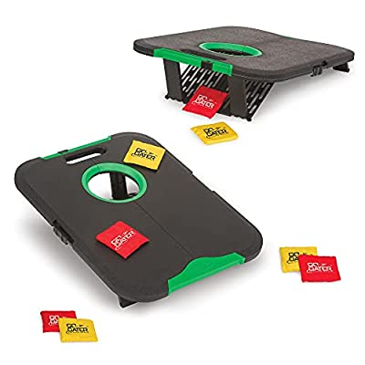 """EastPoint Sports Go! Gater Corn Hole Outdoor Game - 24"""" x 18"""" Junior Size Portable Waterproof Bean Bag Toss Set - Includes 8 Cornhole Bean Bags, Model:1-1-16774-DS from EastPoint Sports"""