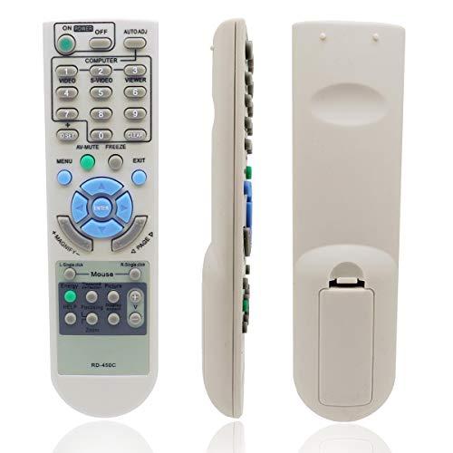 AuKing Telecomando di Ricambio per NEC M260W M260X M271X M300W M300X M311W M311X M350X M361X M420X P350W P350X P401W P420X P451W P451X P501X PE401H U250X U260W U300X U310W UM280W UM280X UM330W UM330X
