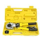TH 16-32mm profilo pressa per pressare lo strumento di piegatura Strumento idraulico di crimpatura 12 ton per tubo composito