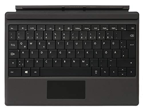 Microsoft Type Cover-Tastatur für Surface 3 - Schwarz - Deutsches QWERTZ