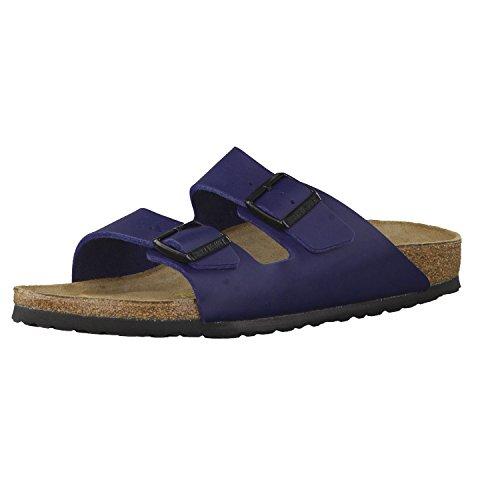 Birkenstock Schuhe Arizona Birko-Flor Schmal Blue (051753) 43 Blau