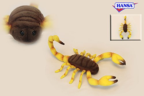 Scorpion Plush Soft Toy by Hansa. 37cm. 6564