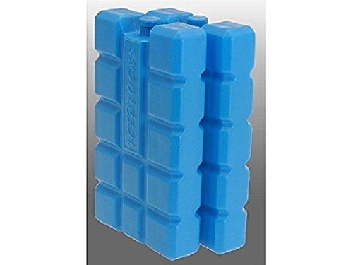 Lot de 2 Batterie de refroidissement kühlakkus Bloc de refroidissement Refroidissement blocs pour glacière sac isotherme – rembourré – Plus 400 ml – Plastique – Bleu