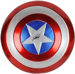 autographed captain america shield